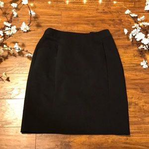 Black Business Pencil Skirt